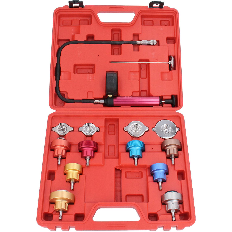 Kühlsystem Tester Pumpe Kühler Abdrückgerät Zylinderkopf Prüfgerät Lecksucher