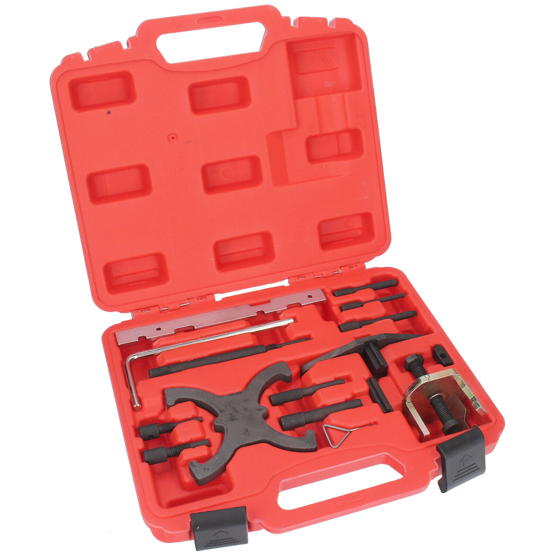 16tlg Zahnriemen Arretierung Motor Einstellwerkzeug für Ford 1.4 1.6 1.8 2.0