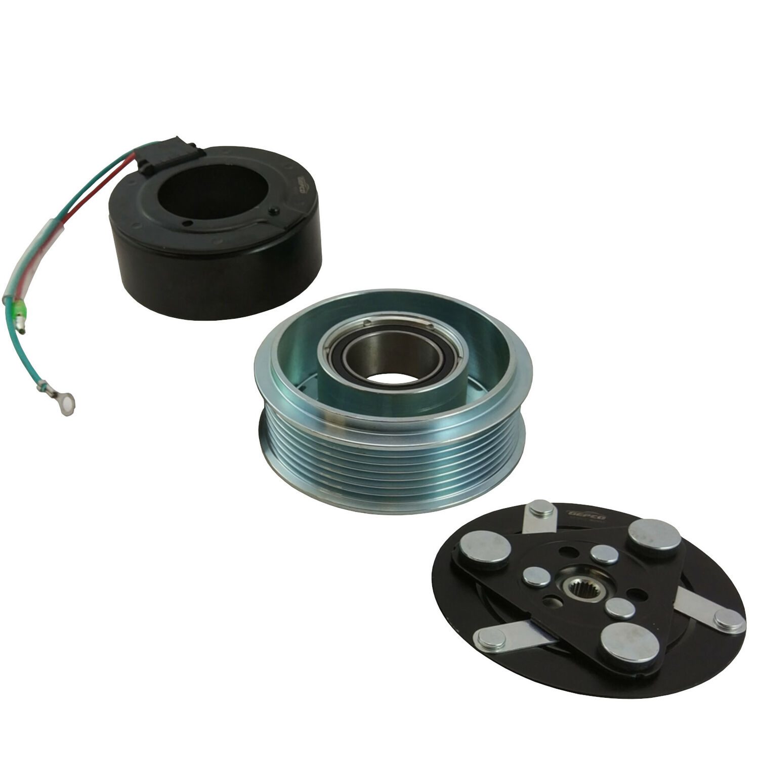 AC Compressor Magnetic Clutch Pulley Magnetic Coil Honda Accord CL Cr-V Rd