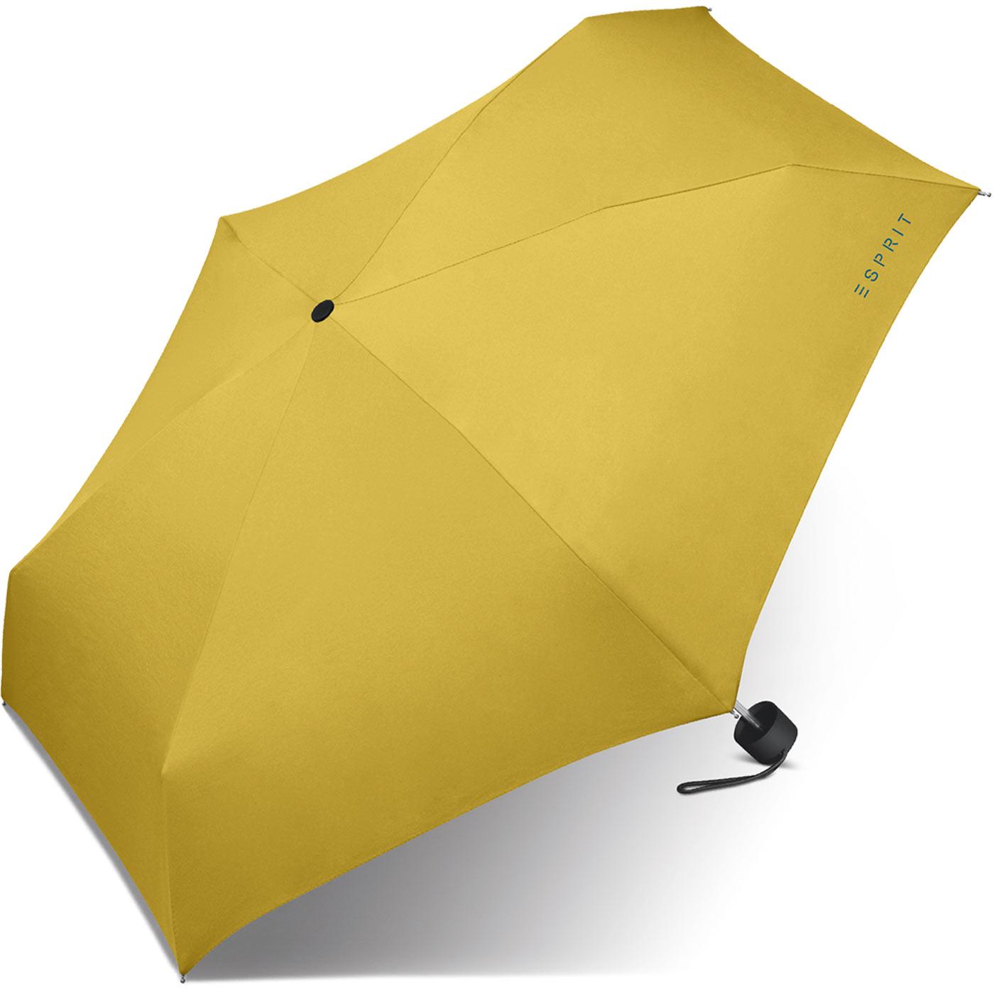 Kleidung & Accessoires Niedrigerer Preis Mit Esprit Petito Minischirm Regenschirm Flashstripe Yellow