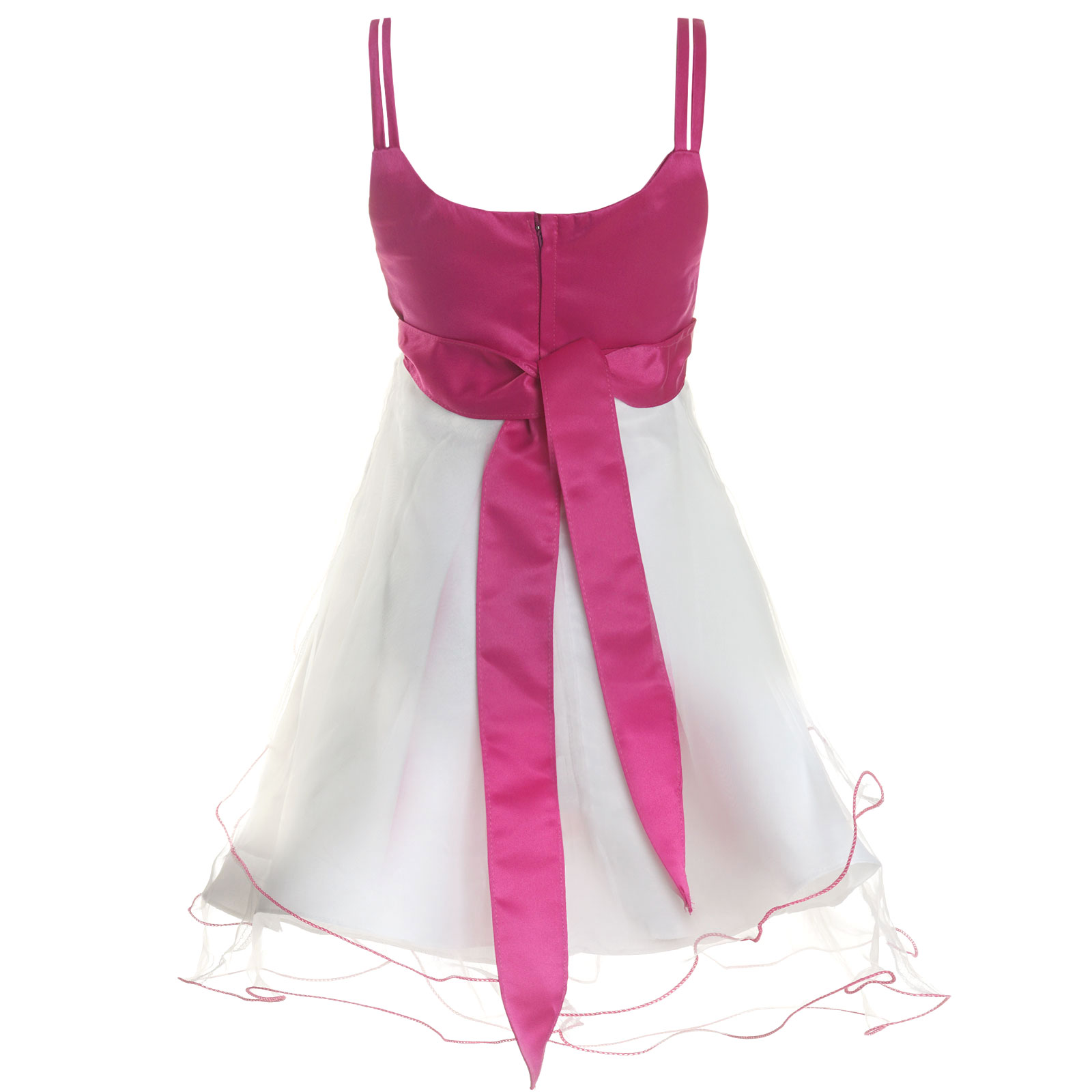 Maedchen-Kinder-Kleid-Peticoat-Festkleid-Lang-Arm-Kostuem-mit-Bolero-Rose-21476 Indexbild 13