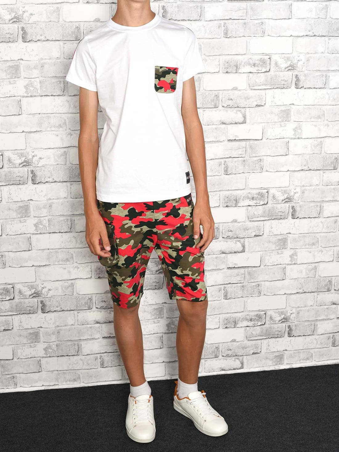 BEZLIT Jungen Set T-Shirt Cargo Shorts 30081
