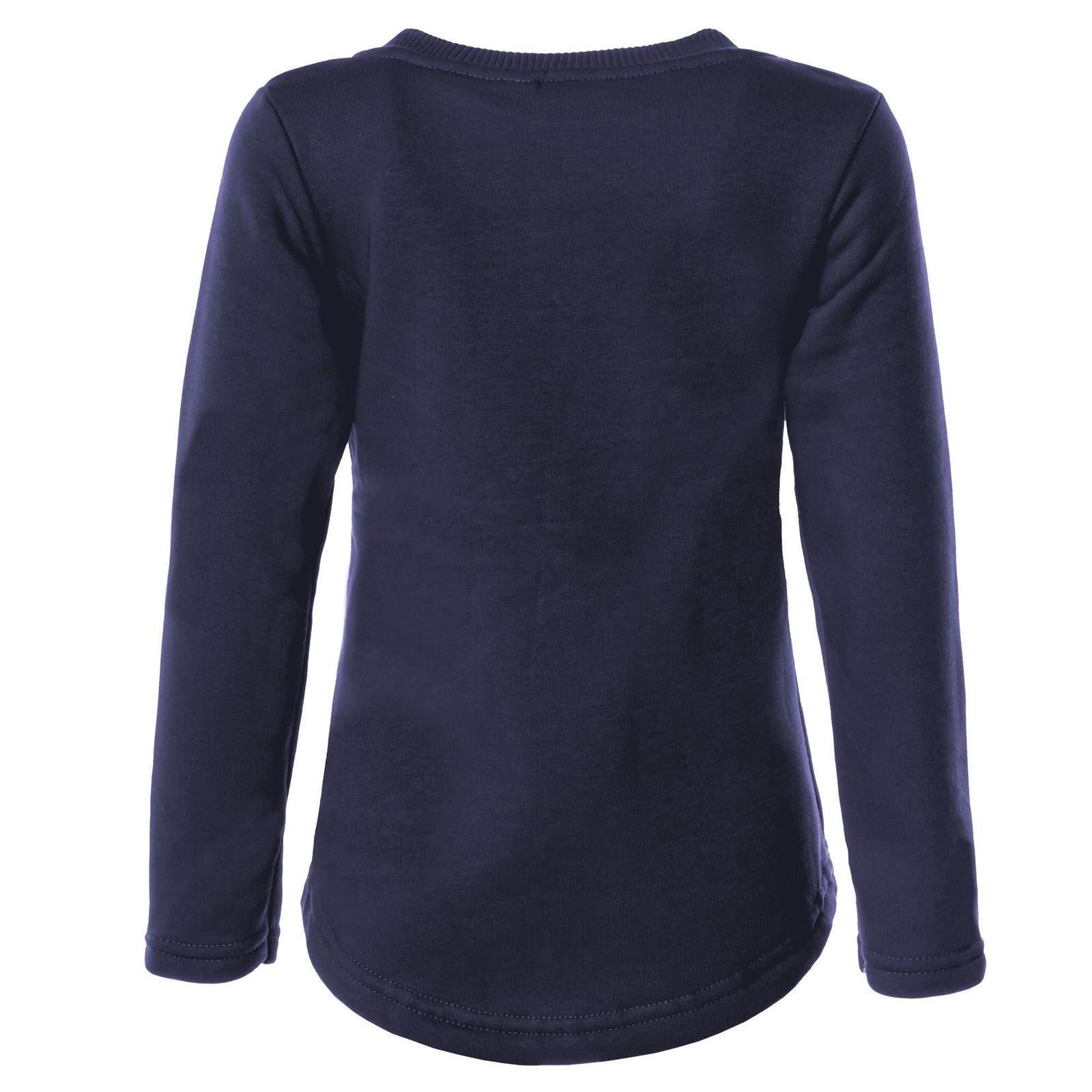 0df61de14a Kinder Pullover Mädchen Pulli Wende Pailletten Sweatshirt Bluse Langarm  21549