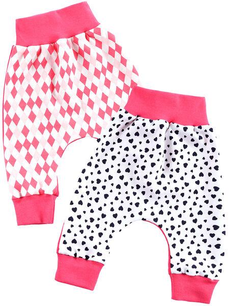 Jungen Pumphose Baby Schlupfhose Mitwachshose Schlafhose Baggy 2er Pack 22841