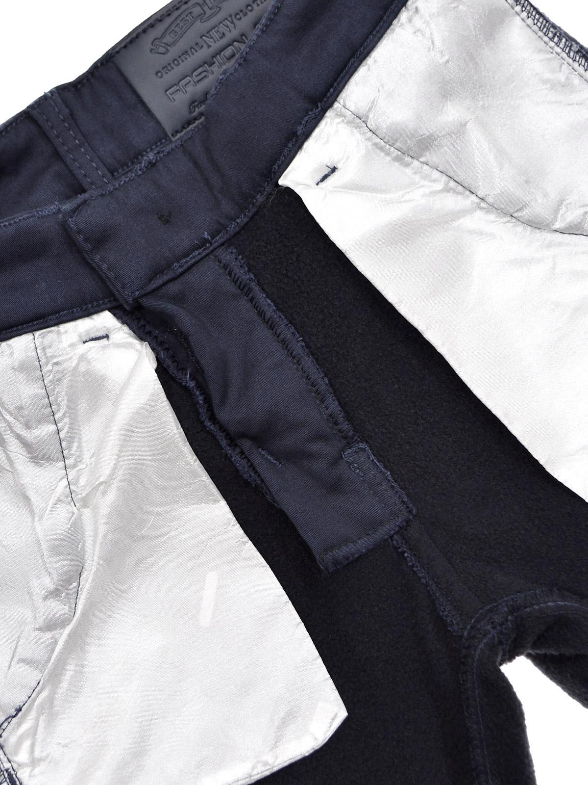 Enfants-Chino-THERMO-d-039-hiver-Pantalons-Garcons-Pantalon-Doublure-Stretch-Reglable-22904 miniature 16