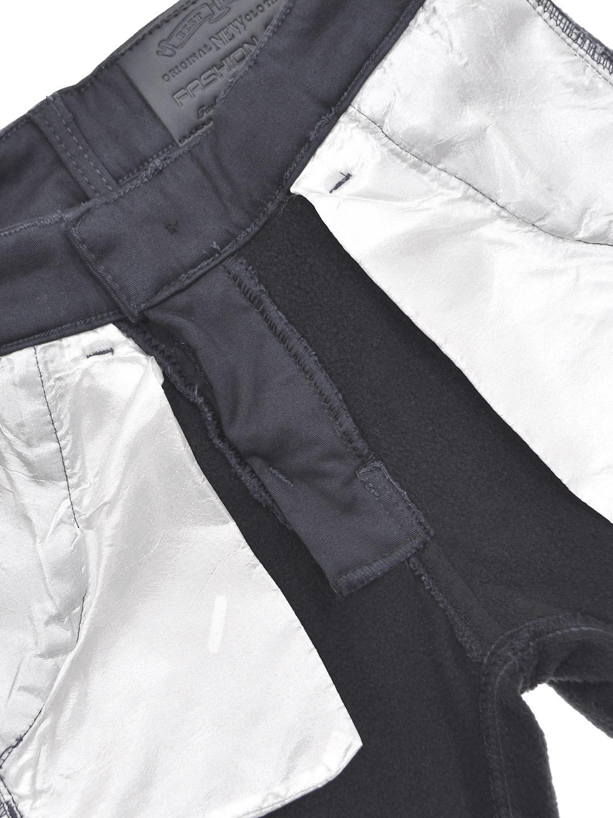 Enfants-Chino-THERMO-d-039-hiver-Pantalons-Garcons-Pantalon-Doublure-Stretch-Reglable-22904 miniature 11