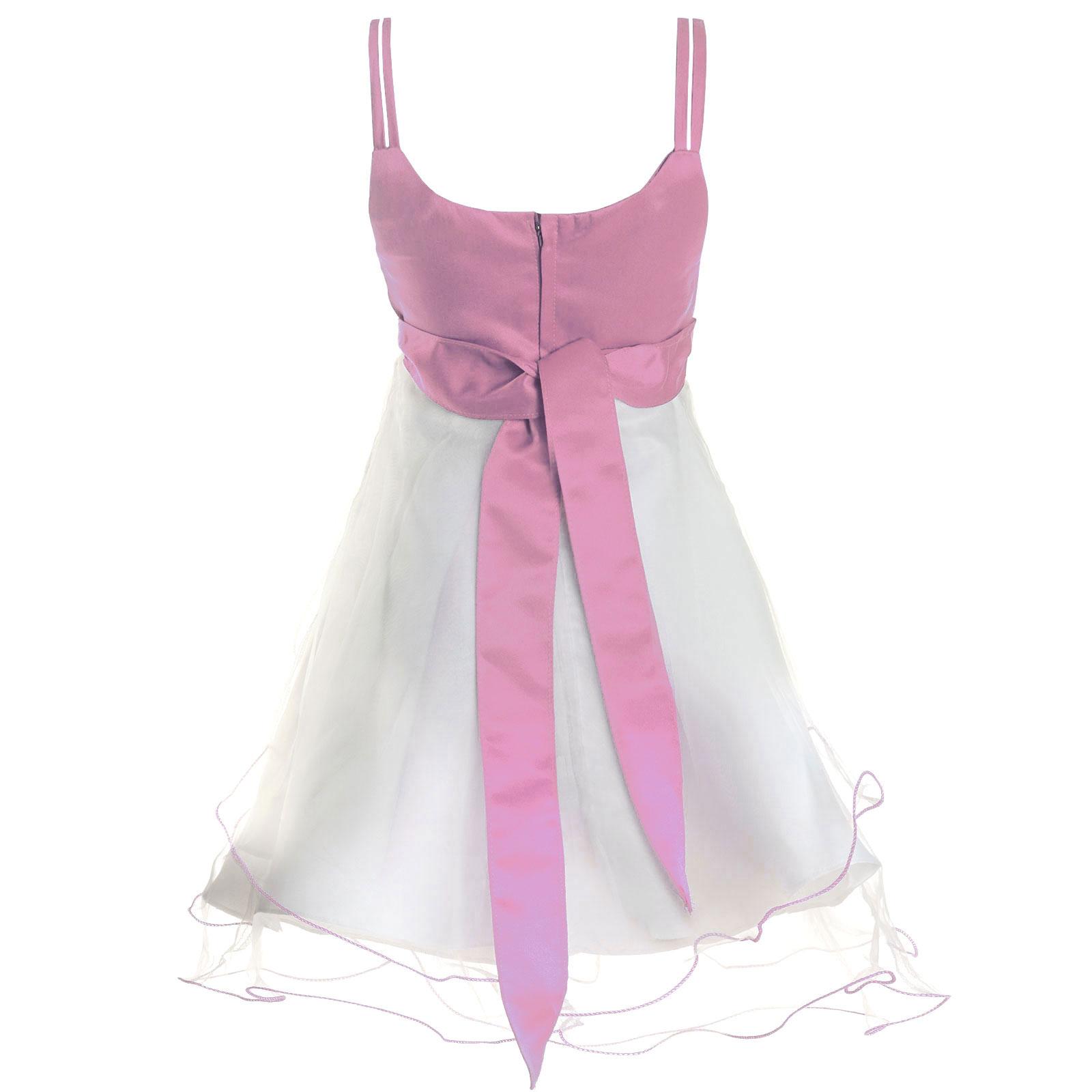 Maedchen-Kinder-Kleid-Peticoat-Festkleid-Lang-Arm-Kostuem-mit-Bolero-Rose-21476 Indexbild 17