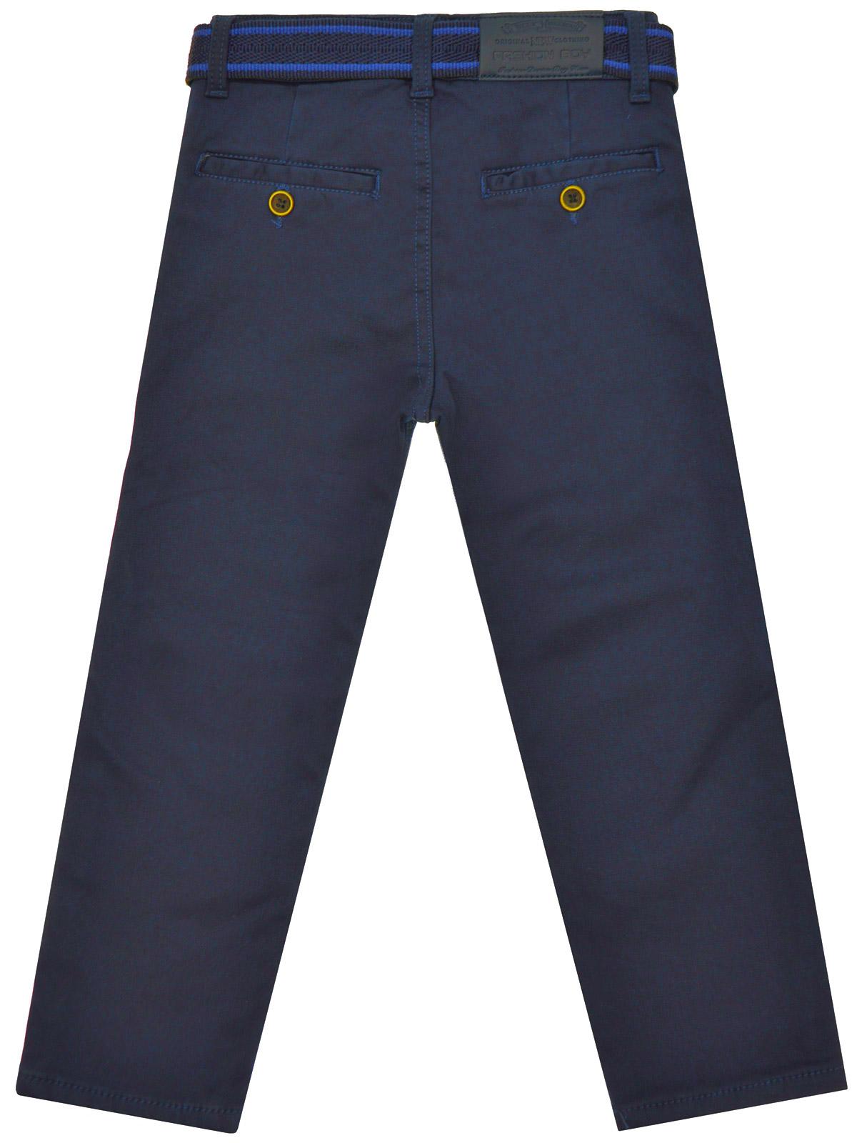 Enfants-Chino-THERMO-d-039-hiver-Pantalons-Garcons-Pantalon-Doublure-Stretch-Reglable-22904 miniature 3