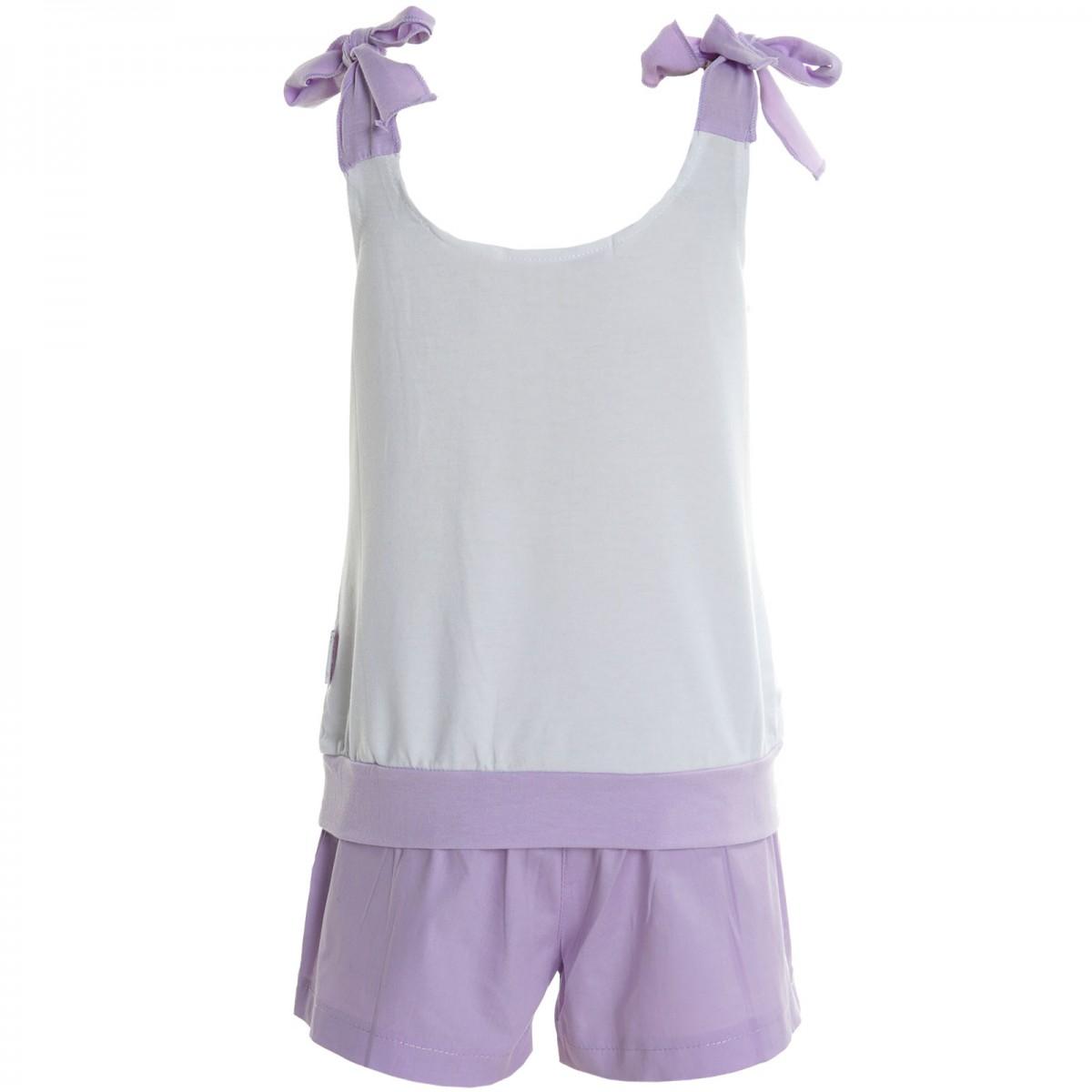 Kinder Mädchen Shorts Tank Top T-Shirt Kurze Capri Hose Outfit 2Tlg Set 20468