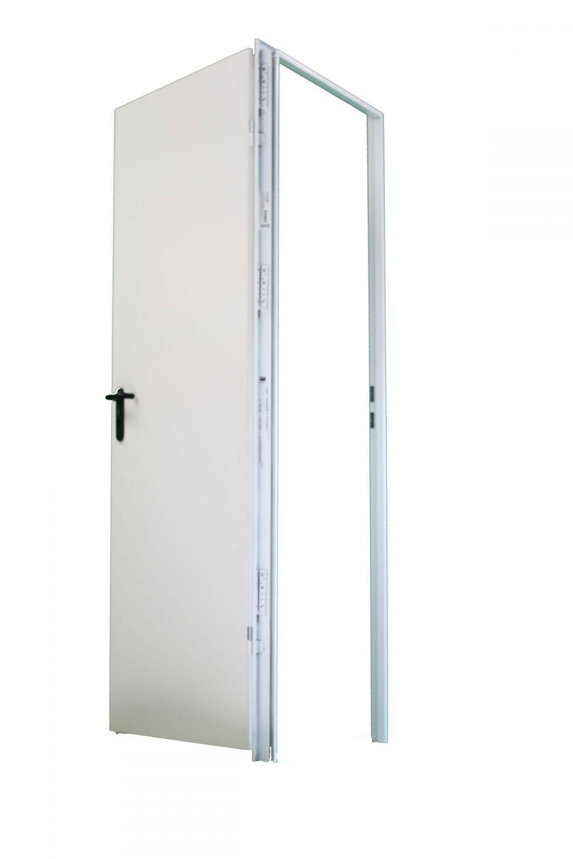 875x1875 mm rechts innent r teckentrup zk t rblatt verzinkt zarge verkehrsweiss ebay. Black Bedroom Furniture Sets. Home Design Ideas