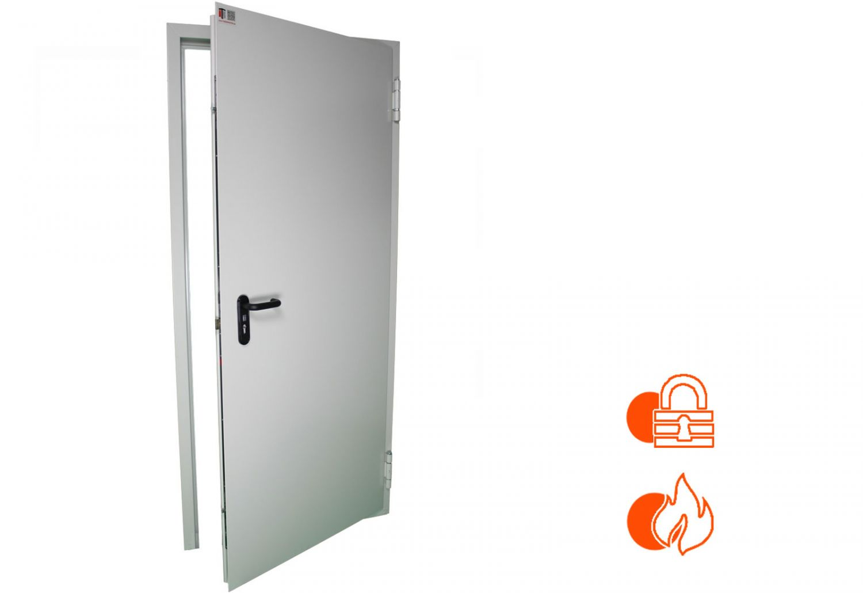 875x2000 links 3-Fach Verriegelte Sicherheitstür Wohnungstür 62 mm Stahltür