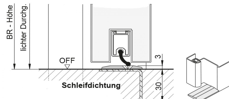 1250x2125 links t30 brandschutzt r rs schleifdichtung 150mm umfassungszarge ebay. Black Bedroom Furniture Sets. Home Design Ideas