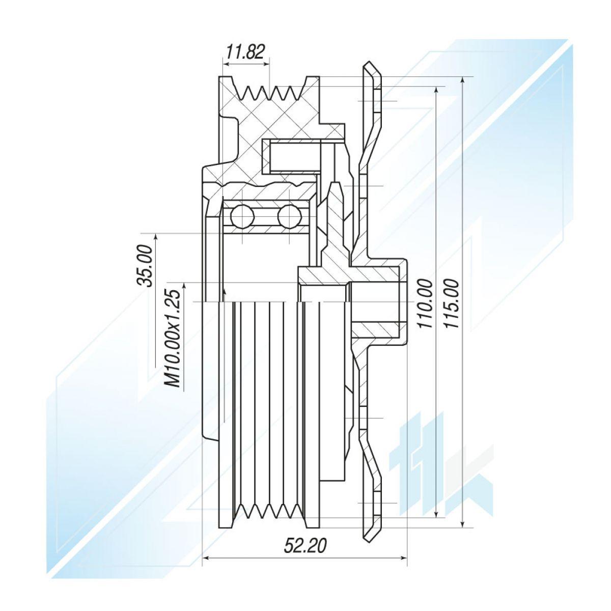 A//C Compressor Clutch Kit fits Fiat Grande Punto Opel Corsa D E 1.2 1.4 55701200