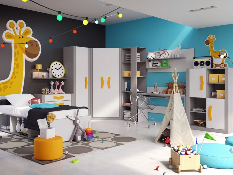 Jugendzimmer komplett set boomerang 01 9 tlg farbauswahl kinderzimmer ebay - Jugendzimmer turkis ...