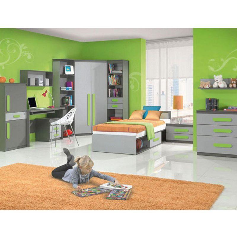 Jugendzimmer fuer maedchen und jungen play 01 10 tlg anthrazit grau ebay - Jugendzimmer madchen shop ...