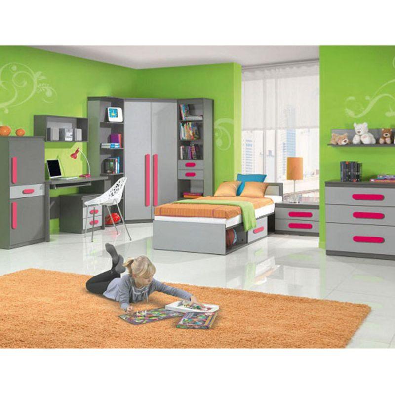 jugendzimmer fuer maedchen und jungen play 01 10 tlg. Black Bedroom Furniture Sets. Home Design Ideas