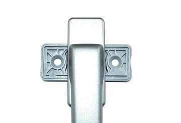 GU Drehgriff Balkont/ürgriff flach 6-28101-00-0-7 weiss geeignet f/ür aussen hinter Rollade