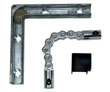 GU Oberlicht Grundkarton Ventus F200 mit Handhebel Silber EV1 K-15011-00-0-1