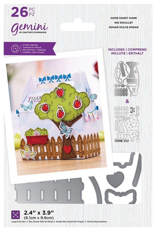 Rosen Crafter/'s Companion Gemini Stempel /& Stanzschablone Decorative Box