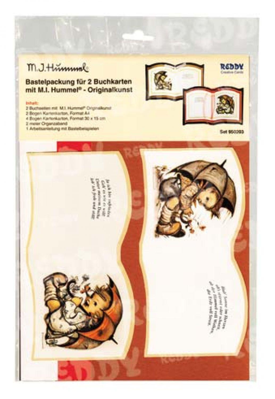 Mein Laternlei Hummel Originalkunst Bastelset Bookatrik Fahrt in die Weihnacht