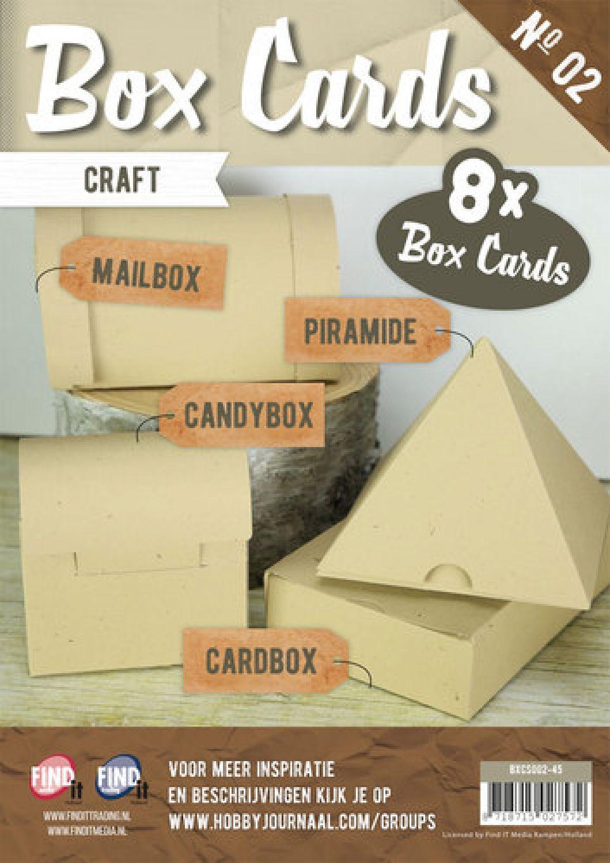 Weiß Set mit 8 Schachteln Box Karten 6