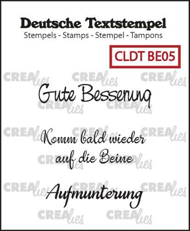 Textstempel Gute Besserung Clear Stamp