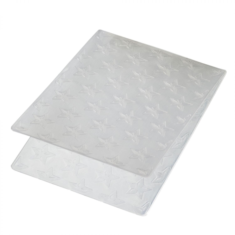 Darice embossing-prägeschablone 10,8x14,6cm Snowflake trim