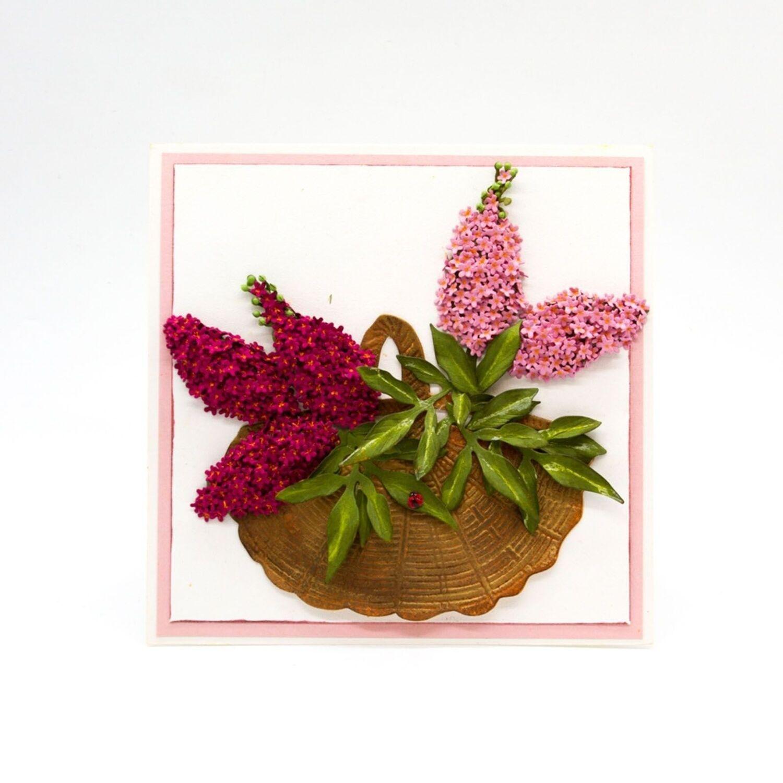 hortensie Tonic Studios Susan/'s Garden Club stanzschablone 5tlg