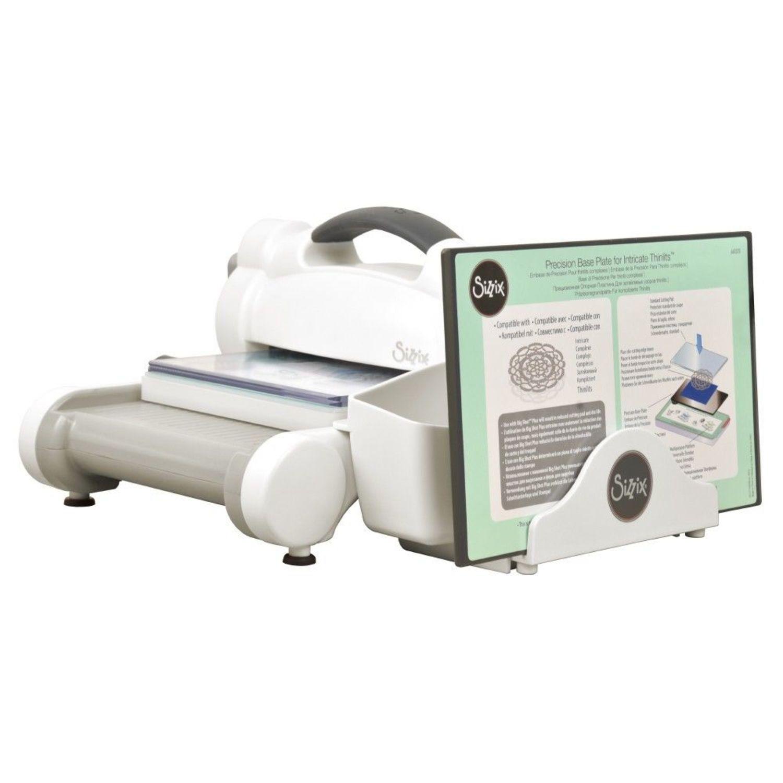 White /& Gray Sizzix sidekick Starter Kit punzonado-y prägemaschine