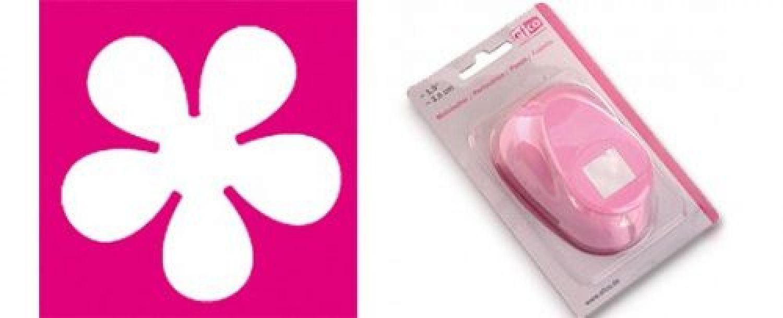 EFCO estampadoras XL flor ~ 5,0 cm