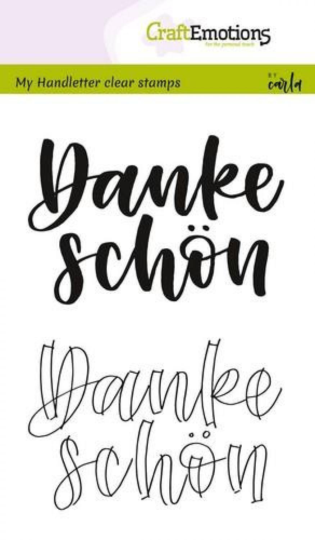 CREAlies Stanzschablone Text Deutsch Set Für Dich 1tlg