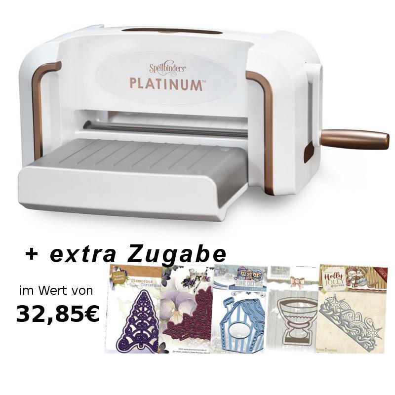 Spellbinders Platinum d/'estampage /& méth machine DIN a4-Edition S