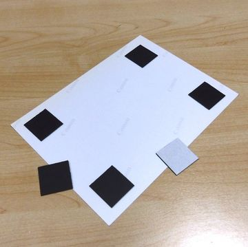 Top Neu rund Ø 40 mm 12 Stück Magnetplättchen selbstklebend Büro Takkis