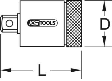 5-tlg. KS Tools 517.1140 3//8 Drehmoment-Z/ündkerzen-Einschraubwerkzeug-Satz