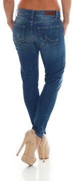 LTB Damen 5-Pocket Jeanshose Mika Boyfriend mit Destroyed-Effekten