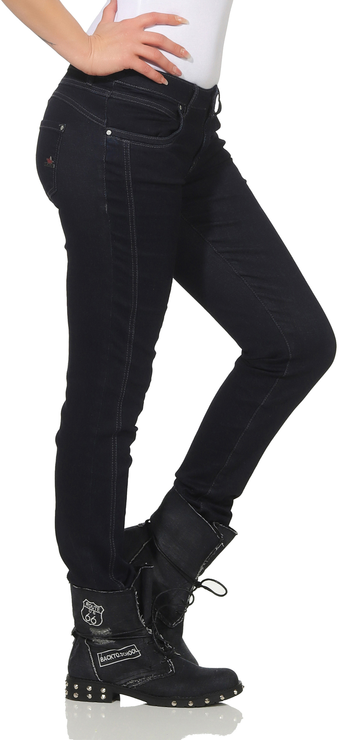 Buena Vista  Damen Jeanshose Sophie Stretch Denim Jeans