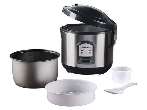 Aufsatz Reiskocher Dampfgarer Cooker Dampf Garbehälter Steamer Messbecher 1L