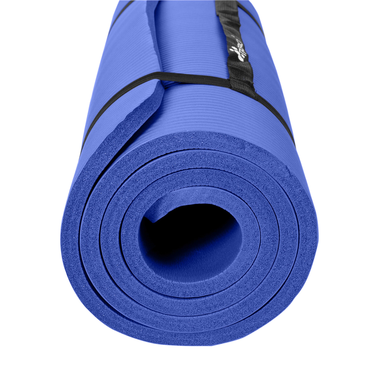 Yogamatte-Fitnessmatte-Gymnastikmatte-Pilates-Sportmatte-Bodenmatte-PHTHALATFREI Indexbild 52