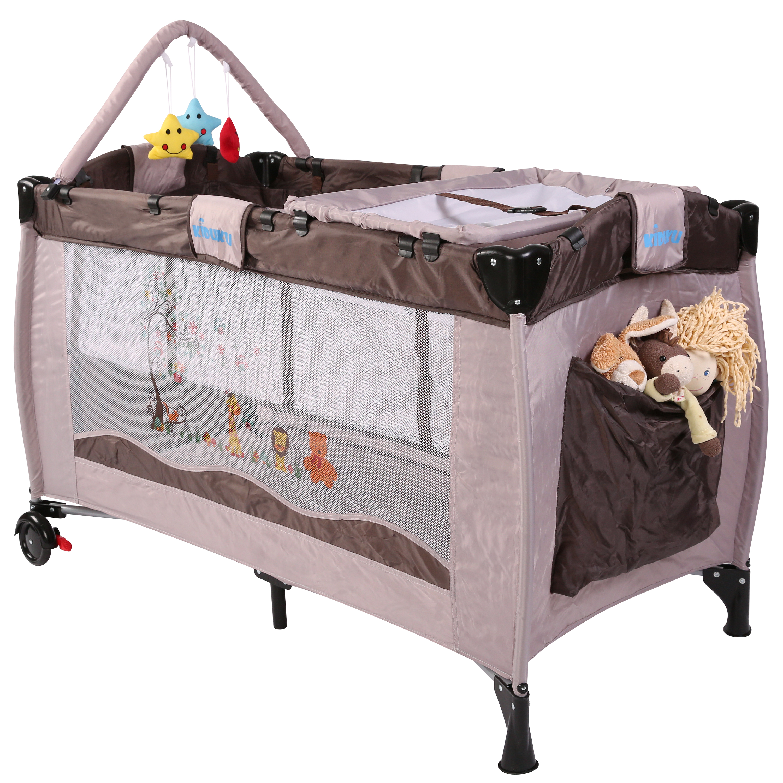 kiduku lit b b parapluie lit pliant pour enfant lit de. Black Bedroom Furniture Sets. Home Design Ideas