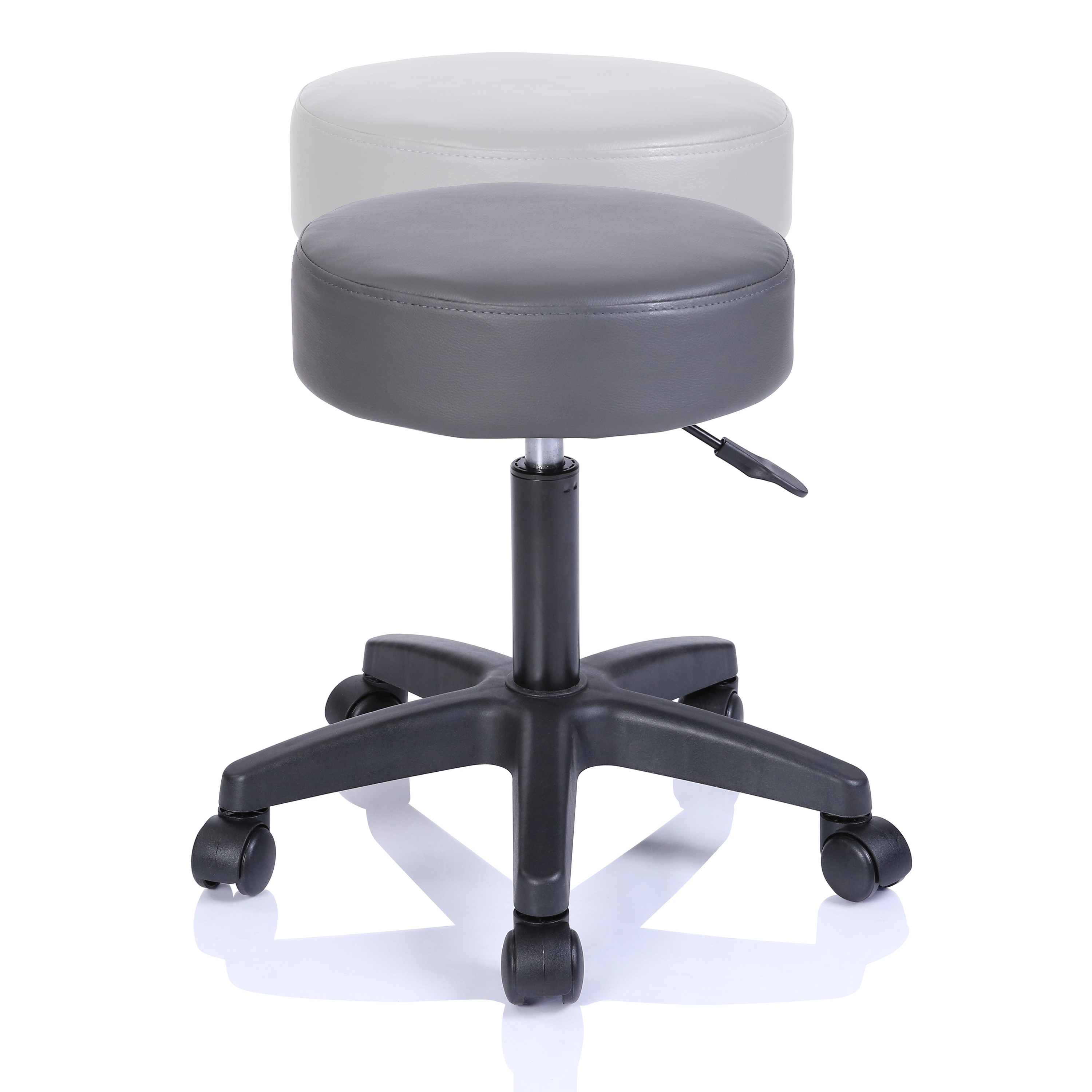 Stool Swivel Chair Black Adjustable Height Chair Office