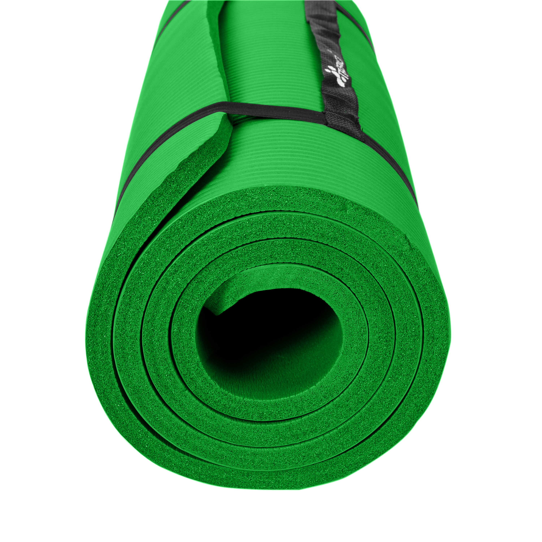 Yogamatte-Fitnessmatte-Gymnastikmatte-Pilates-Sportmatte-Bodenmatte-PHTHALATFREI Indexbild 44