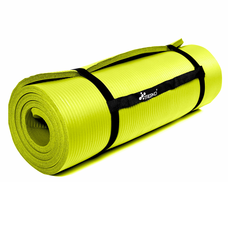 Yogamatte-Fitnessmatte-Gymnastikmatte-Pilates-Sportmatte-Bodenmatte-PHTHALATFREI Indexbild 34