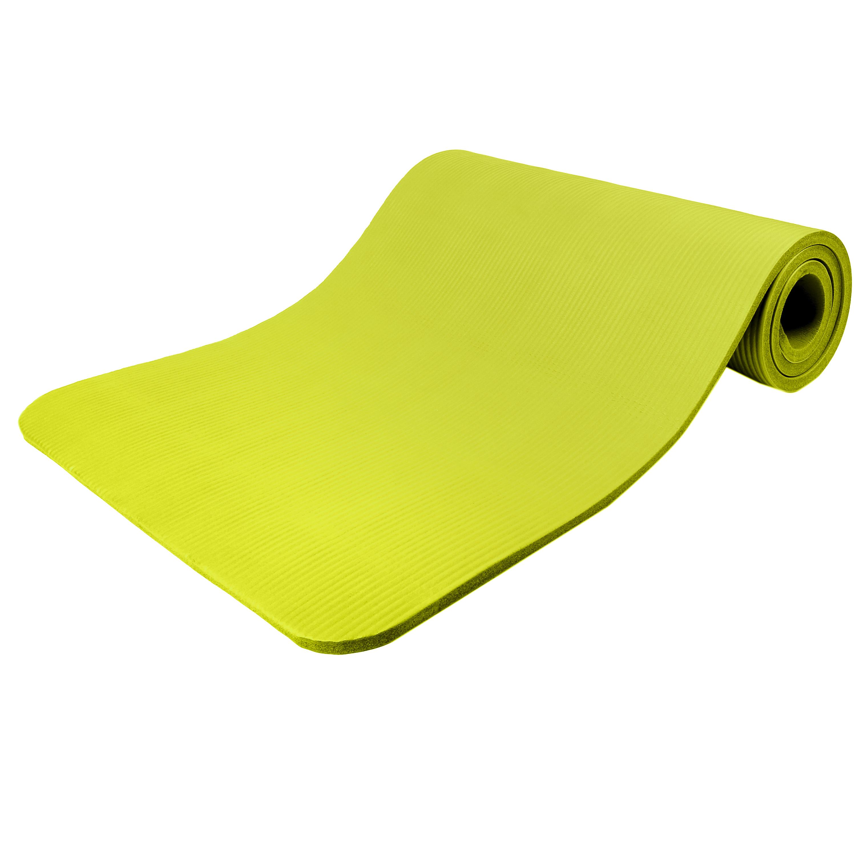 Yogamatte-Fitnessmatte-Gymnastikmatte-Pilates-Sportmatte-Bodenmatte-PHTHALATFREI Indexbild 35