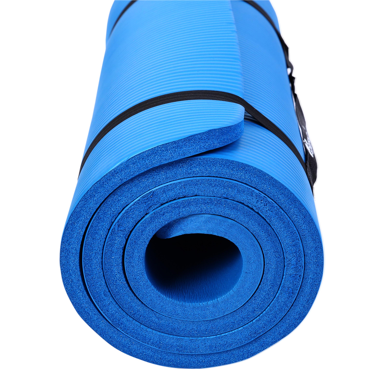 Yogamatte-Fitnessmatte-Gymnastikmatte-Pilates-Sportmatte-Bodenmatte-PHTHALATFREI Indexbild 8