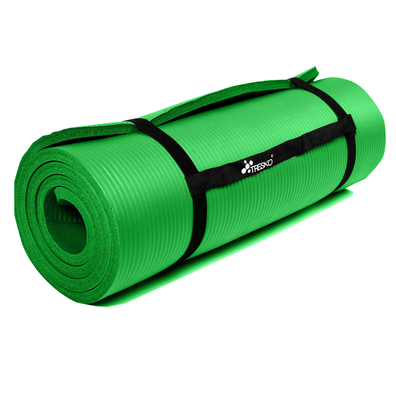 Yogamatte-Fitnessmatte-Gymnastikmatte-Pilates-Sportmatte-Bodenmatte-PHTHALATFREI Indexbild 42