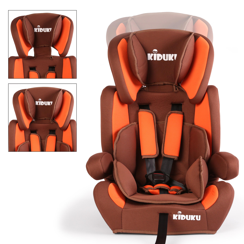 miniatura 6 - KIDUKU® Seggiolino auto cresce con il bambino sedile universale Gruppo 1+2+3