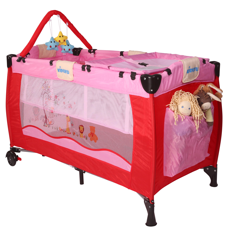 KIDUKU® Lit Bébé parapluie Lit pliant pour enfant Lit de voyage Lit ...