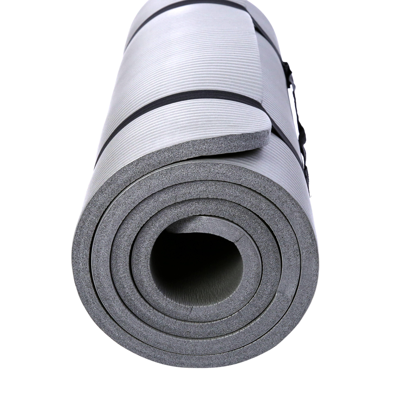 Yogamatte-Fitnessmatte-Gymnastikmatte-Pilates-Sportmatte-Bodenmatte-PHTHALATFREI Indexbild 12