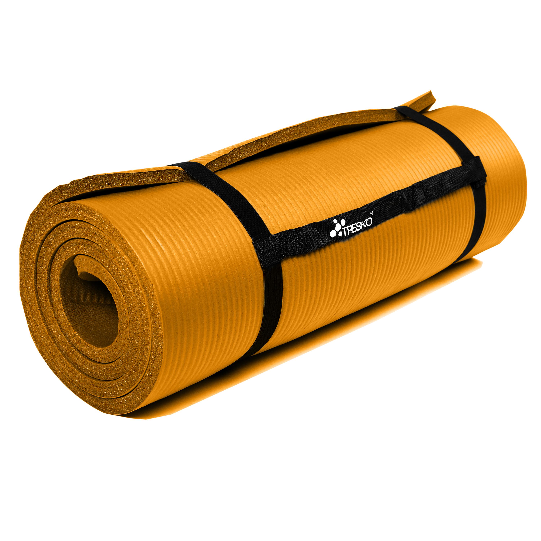 Yogamatte-Fitnessmatte-Gymnastikmatte-Pilates-Sportmatte-Bodenmatte-PHTHALATFREI Indexbild 30