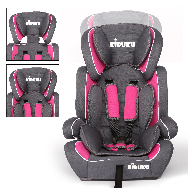 miniatura 42 - KIDUKU® Seggiolino auto cresce con il bambino sedile universale Gruppo 1+2+3